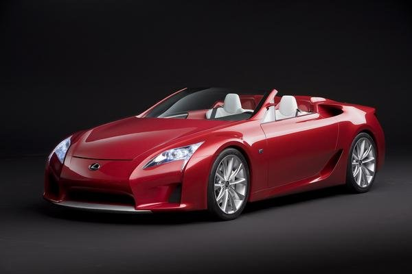 lexus lf-a roadster picture