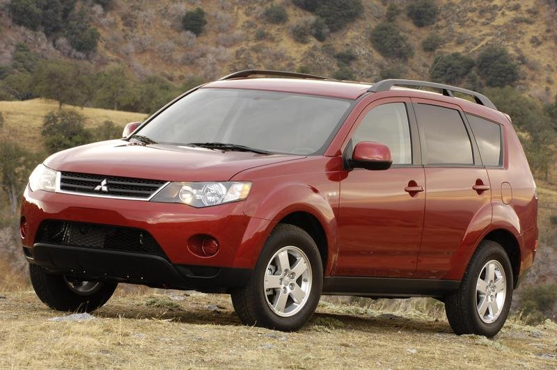 2008 Mitsubishi Outlander pricing announced