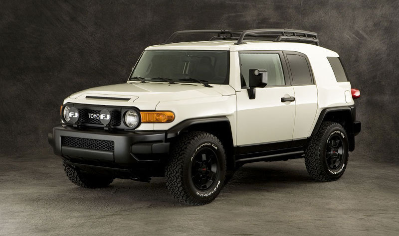 2008 Toyota FJ Cruiser Trails Team Edition