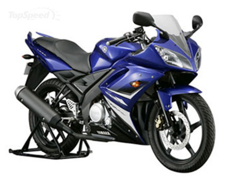 yamaha yzf-r15. In the winter of 2008, a new force strikes in the sports