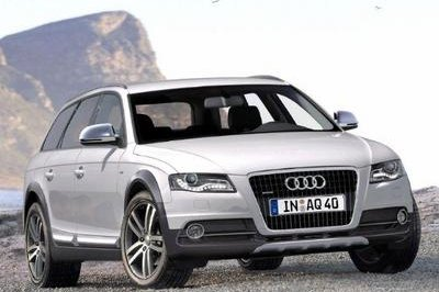 2009 Audi A4 Allroad rendering