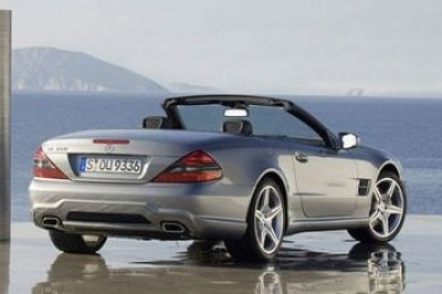 2009 Mercedes Benz SL Facelift First Official Images