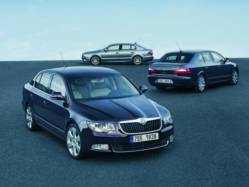 2009 Skoda Superb - new images and informations