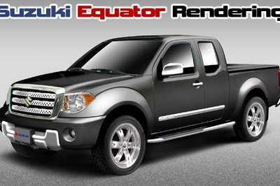 2009 Suzuki Equator to be unveiled at the Chicago Auto Show