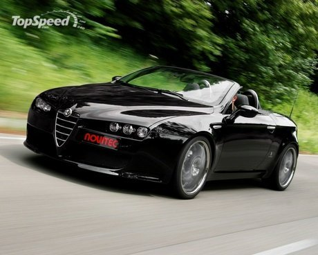 Alfa Romeo Spider Leaked Photos
