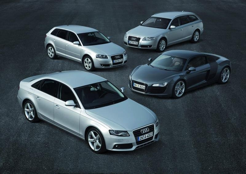 Audi A3, A4, A6 and R8 top their classes