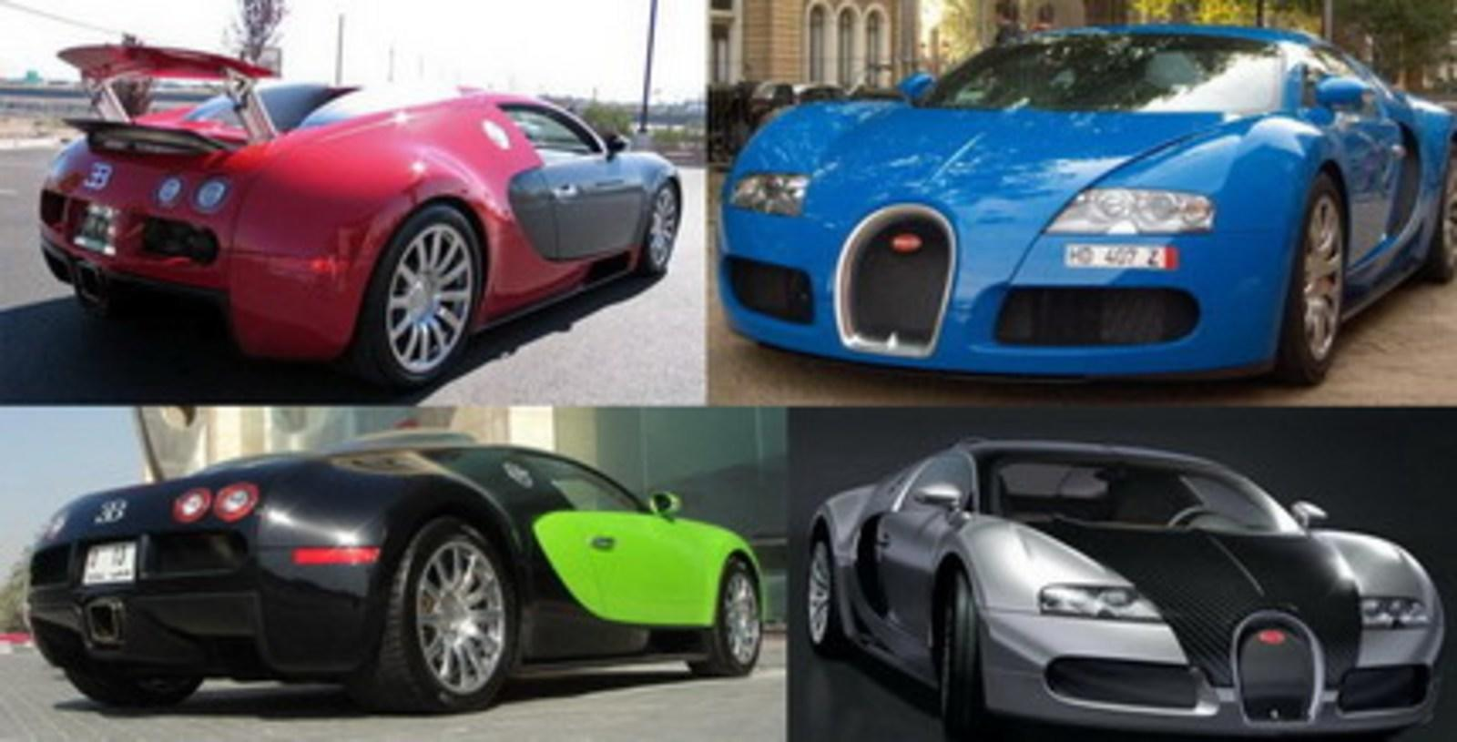 Bugatti Veyron What Color Do You Prefer News Top Speed