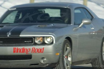 Dodge Challenger spied without camo