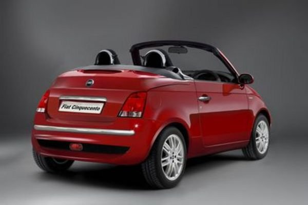 fiat 500 convertible will debut at the geneva motor show news top speed. Black Bedroom Furniture Sets. Home Design Ideas
