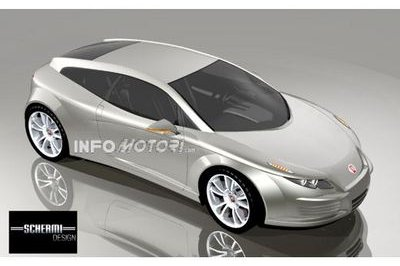 Fiat Coupe renderings