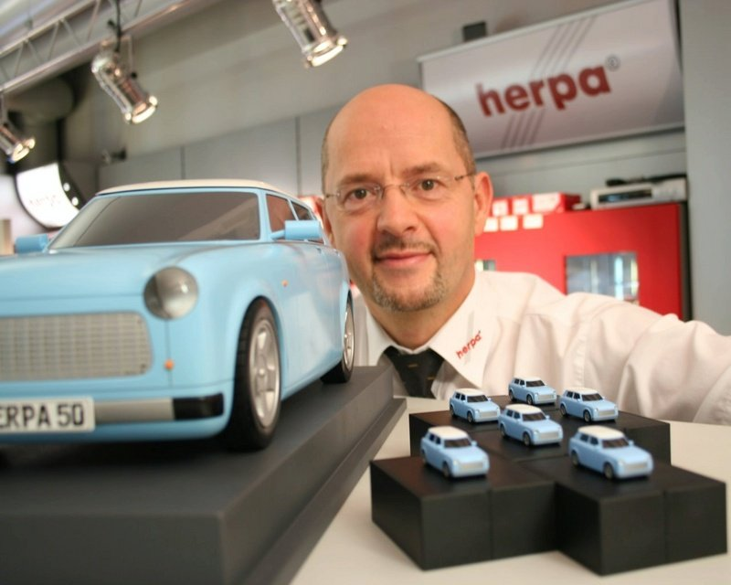 Herpa might bring Trabant back to life