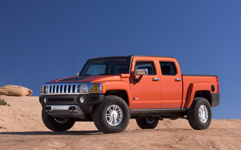 Hummer H3T more official images