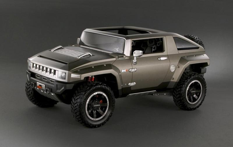 Hummer HX preview of the next H4