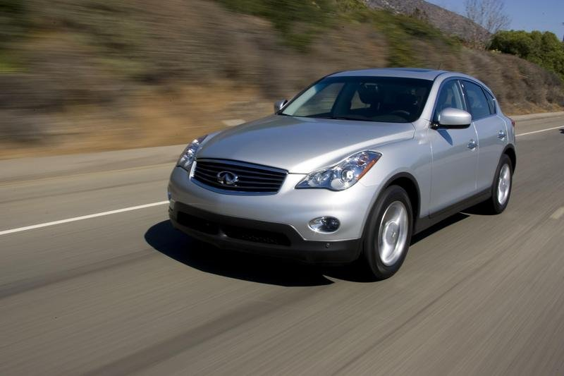Infiniti EX35 earned Top Safety Pick award for 2008