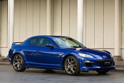 Mazda RX-8 facelift - first official images