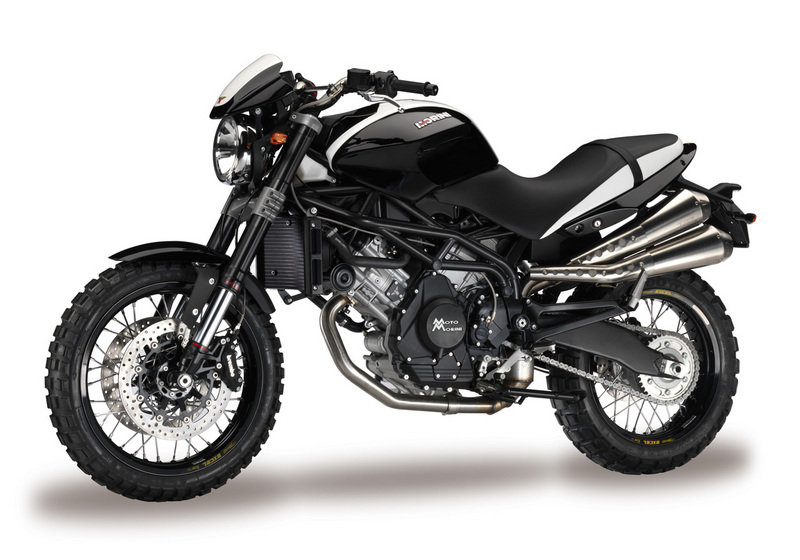 Official Pictures of the new Moto Morini 1200 models