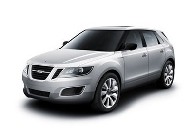 Saab 9-4X BioPower Concept first official images