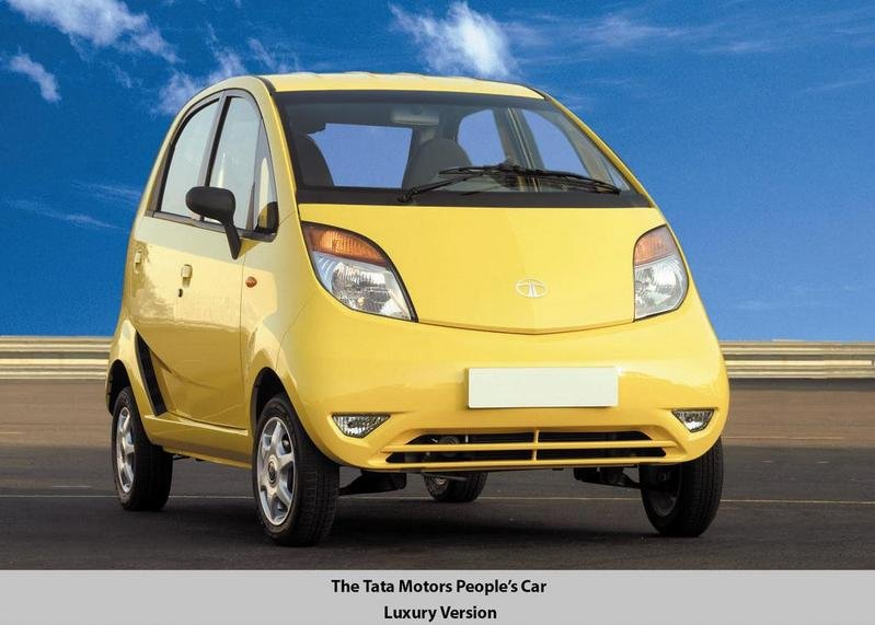 Tata Nano - the $2500 car