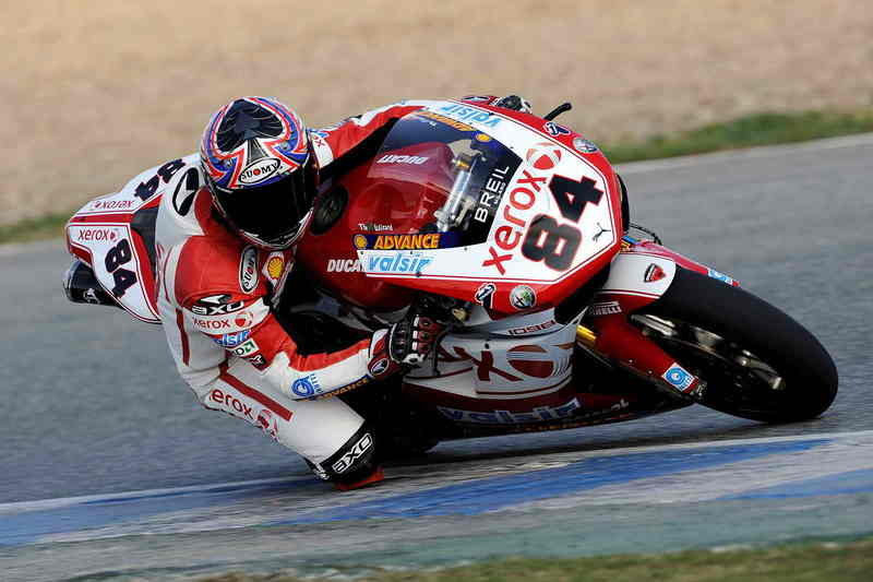 The Ducati Xerox team has presented its new look in Jerez