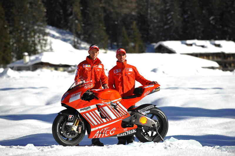Wrooom, Day One: Ducati Desmosedici GP8 unveiled