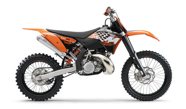 2008 ktm 200 xc and xc w motorcycle review top speed. Black Bedroom Furniture Sets. Home Design Ideas