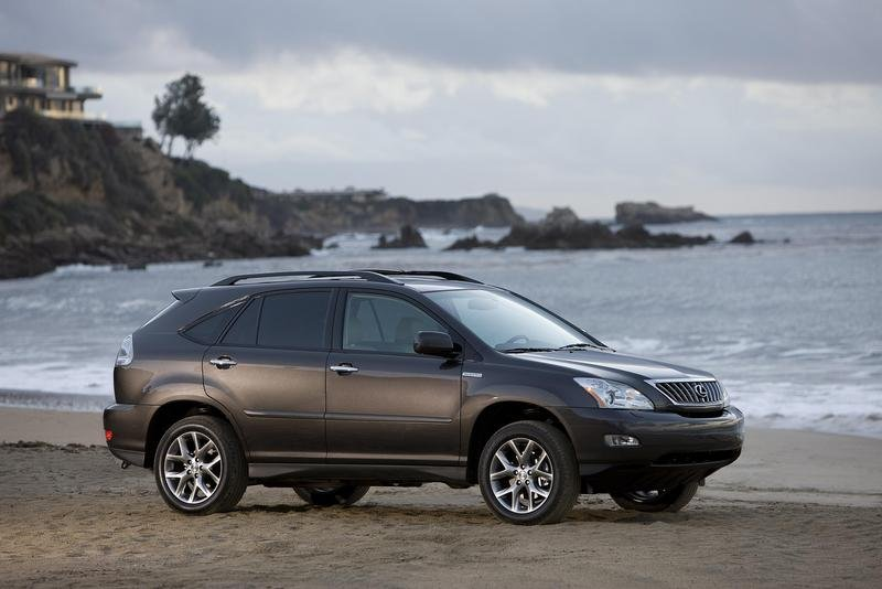 2008 lexus pebble beach collection rx 350 and es 350