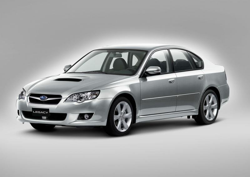 2008 Subaru Legacy 2.0D and Outback 2.0D