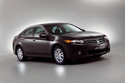 2009 Honda Accord (European model)