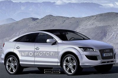 Audi Q6 targets the new BMW X6