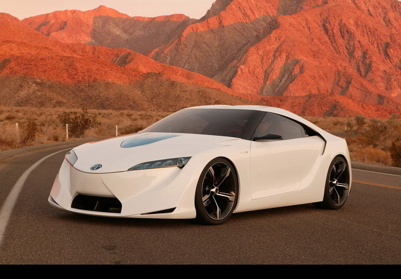 Future Toyota Supra to be inspired by the FT-HS concept?