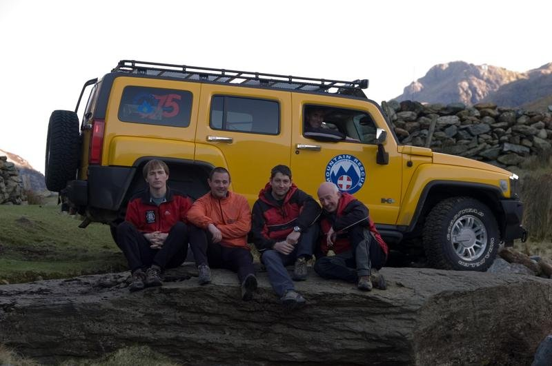 2008 Hummer Mountain Rescue