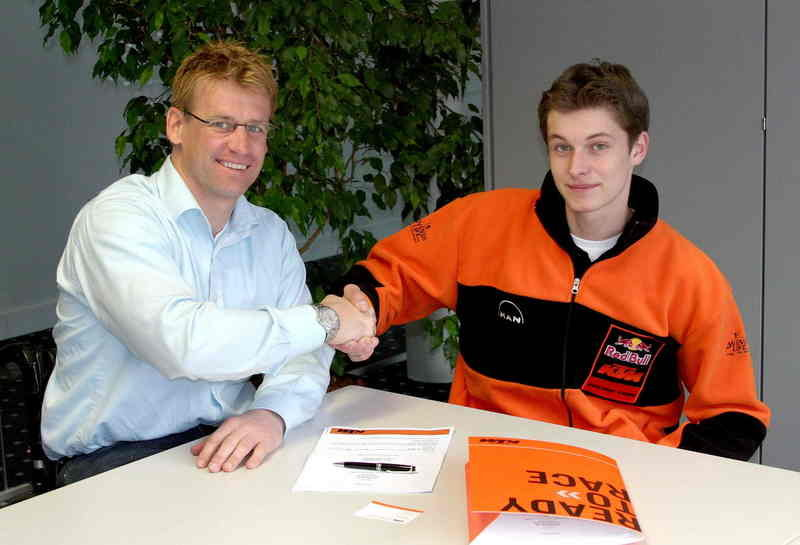 KTM recruits bright spark FMX talent Petr Pilat as factory rider