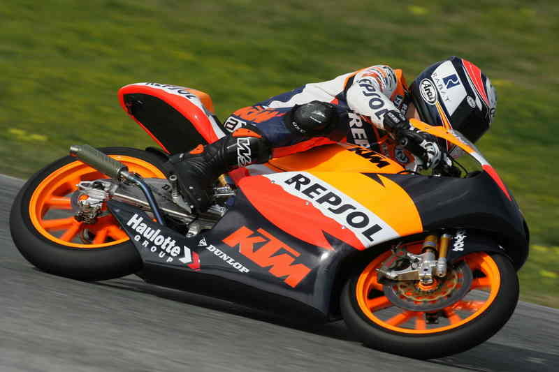 KTM riders test the mettle of Jerez circuit and finish in high spirits