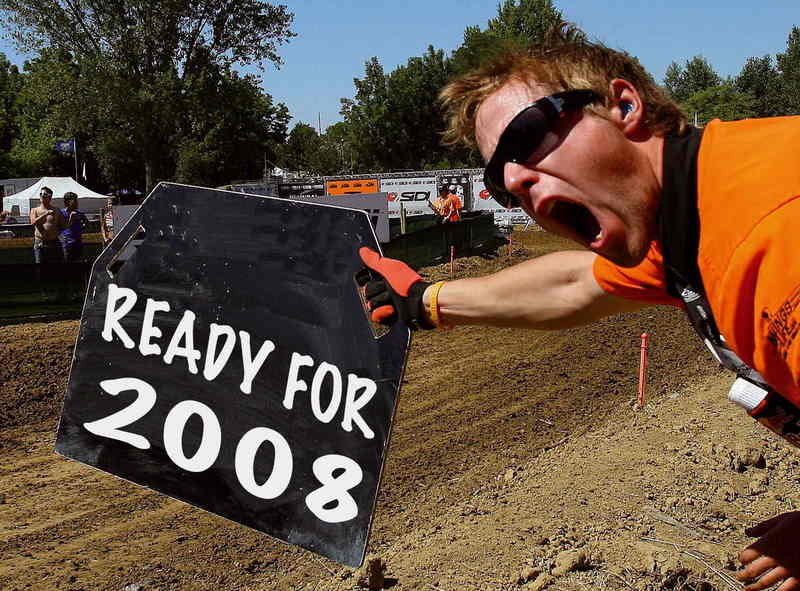 KTM's MX riders launch their 2008 season at Mantova