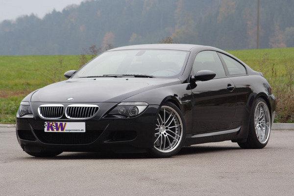 kw suspension for bmw m6 and mercedes c-class picture