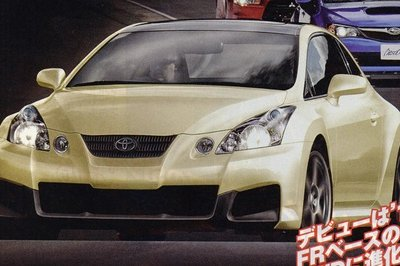Next Celica to be built by Subaru