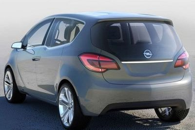 Opel Meriva Concept - first official images