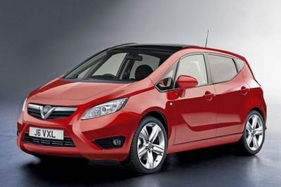 Opel Meriva first renderings