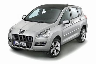 Peugeot 3008 to be launched in 2010
