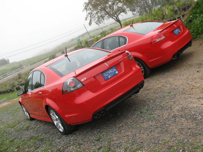 Pontiac G8 first contact..with the V8