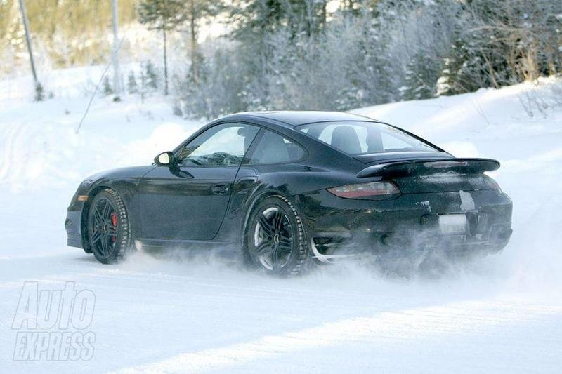 Revised 911 Turbo caught testing