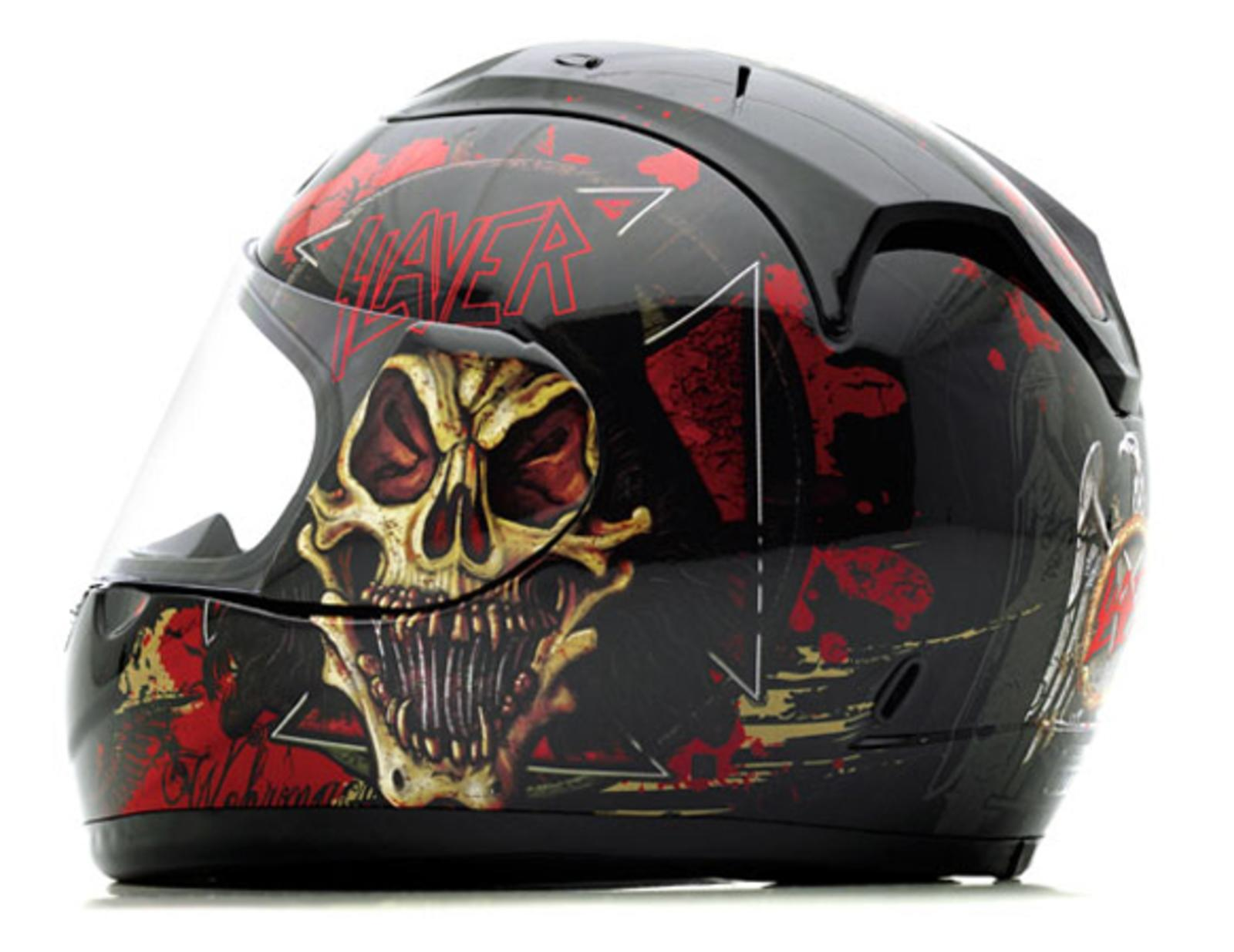 Slayer S Limited Edition Of Motorcycle Helmets Top Speed