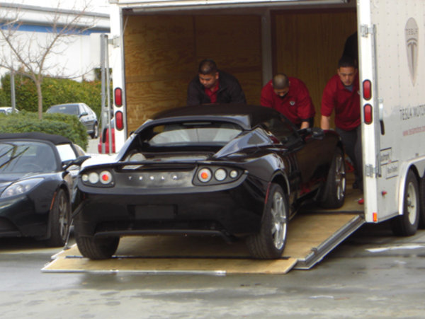 Tesla Roadster First Delivery News Top Speed