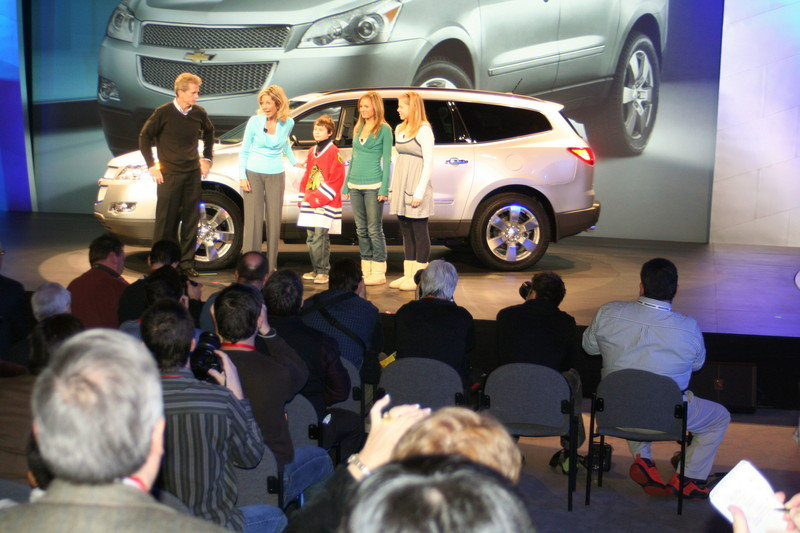 THE NEW CHEVROLET TRAVERSE - image 231493