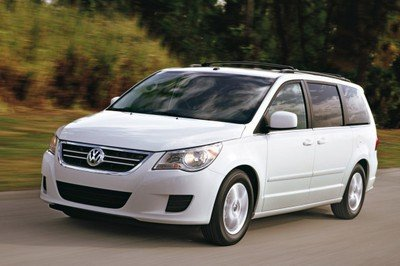 Volkswagen Routan first official images