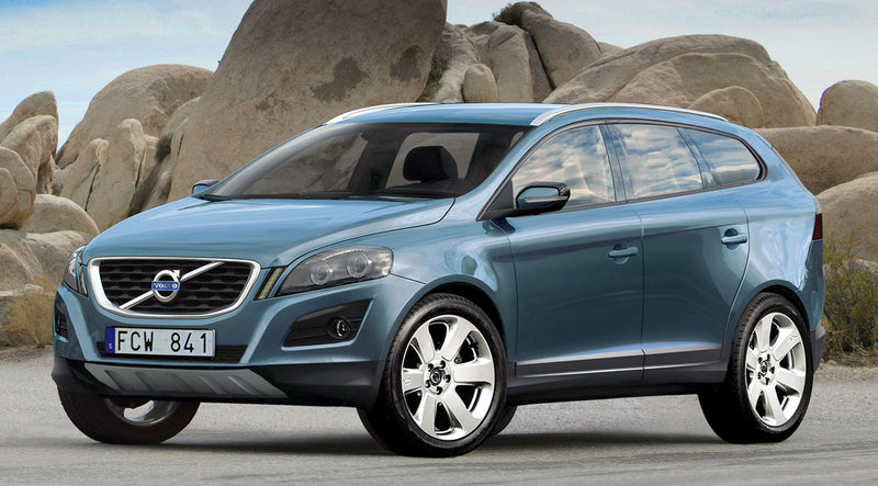 Volvo XC60 renderings
