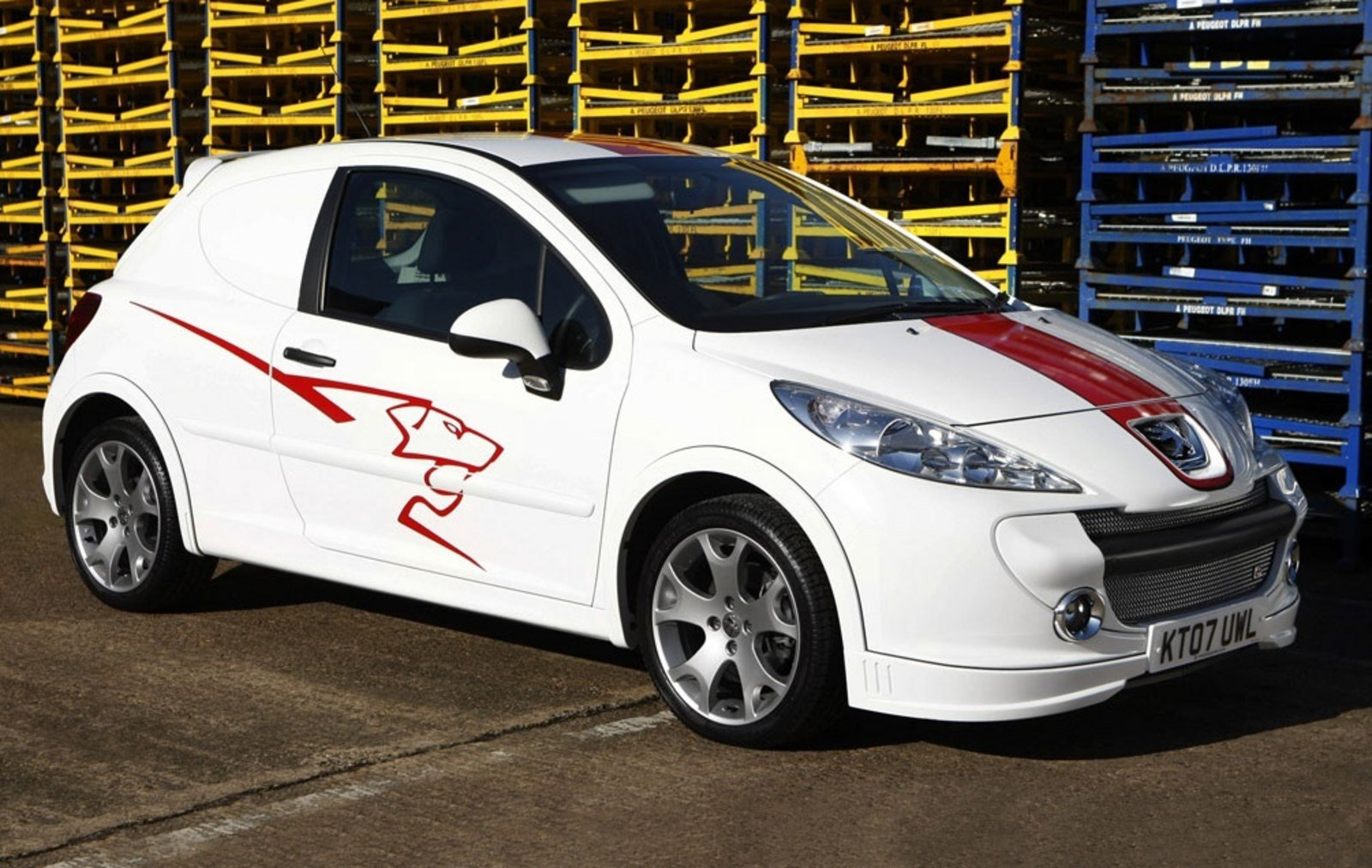 2008 peugeot 207 sports van review top speed. Black Bedroom Furniture Sets. Home Design Ideas