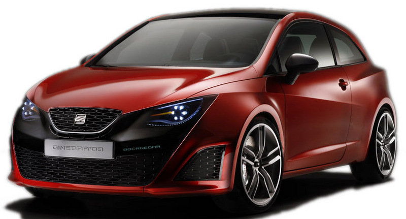 2008 Seat Ibiza Concept - first images