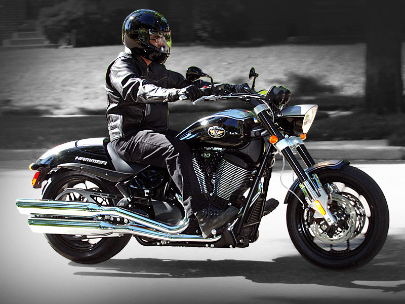2008 Victory Hammer Review - Top Speed