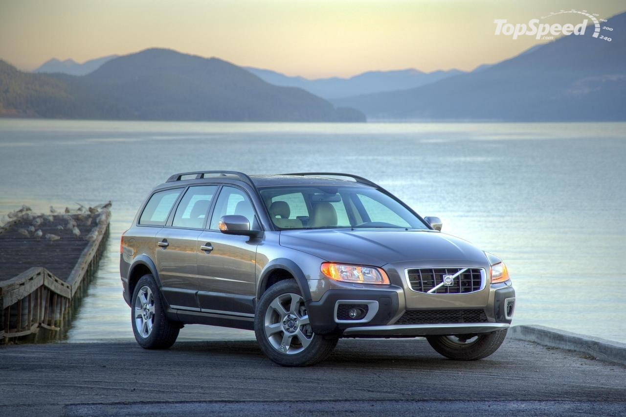 The Compact 2010 Volvo XC70 T6 Turbo Engine
